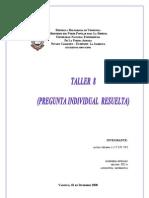 Taller 8 (Grupo 1) Yhoana Alcila