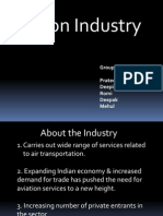 Aviation Industry Presentation