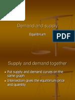 6 Market Equilibrium