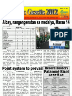 Deped Naga Gazette - Palarong Bikol 2012 - Issue 3