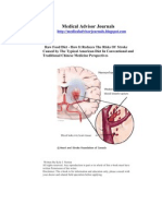 21828499 Raw Food Diet How It Reduces the Risks of Stroke Caused by the Typical American Diet in Conventional and Traditional Chinese Medicine Perspectives