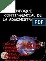 Enfoque Contingencial de La Admin is Trac Ion