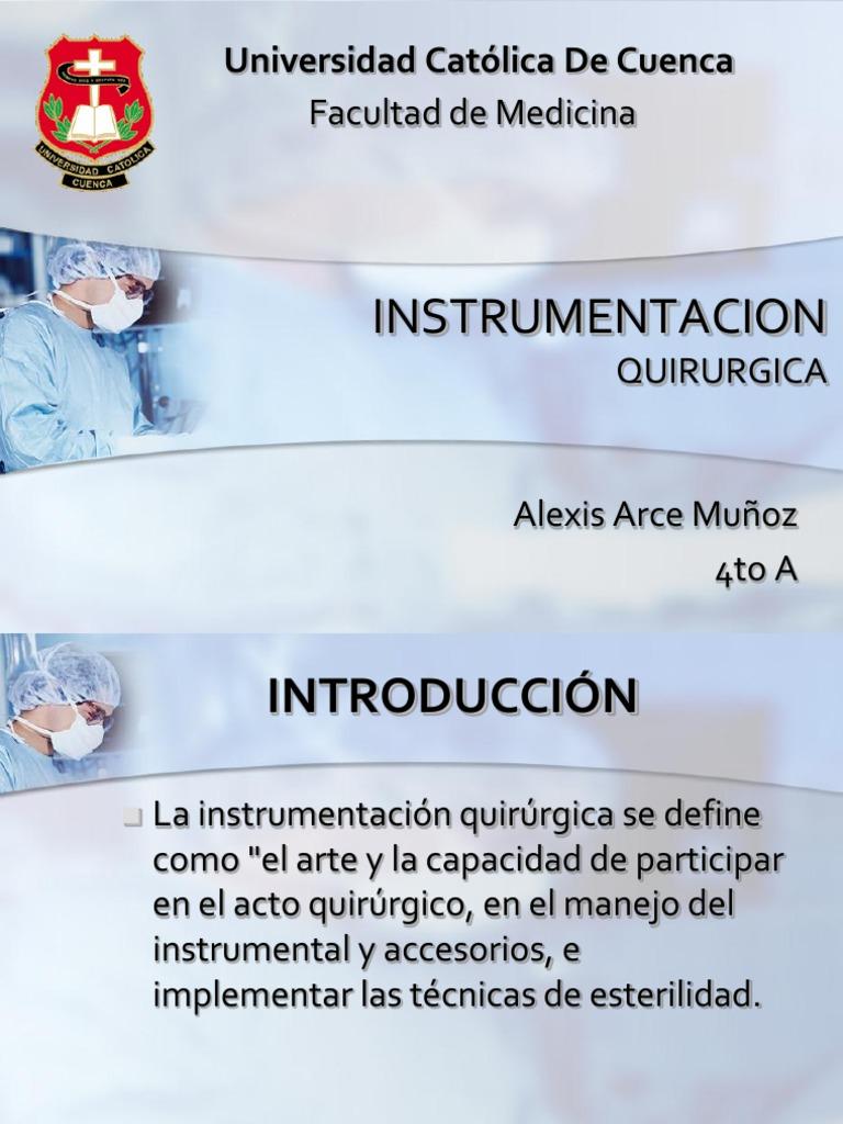 instrumentacion quirurgica | Cirugía | Diente humano
