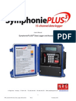 NRG SymphoniePLUS3 Data Logger Manual - Rev 2.0