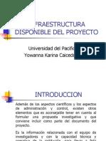 Infraestructura Disponible Del Proyecto
