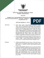 KEPMEN 594 - Keputusan Menteri PU Tentang Pembentukan TKPSDA WS 6 Ci