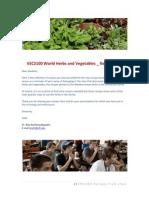 VEC2100 Summer 2011 Recipe Book