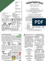 PBC Bulletin - March 18