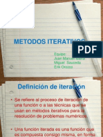 METODOS ITERATIVOS