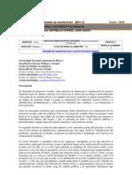 Programa de Desarrollo de Proyectos Sociales A