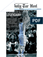The Daily Tar Heel for March 16, 2012