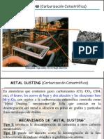 Mec de Corrosion Dusting y Oxid Cast