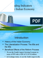 The Indicators of Indian Economy PPT @ MBA 2009