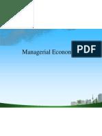 Managerial Economics PPT BABA @ MBA 2009