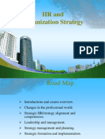 HR and Organization Strategy PPT @ MBA 2009