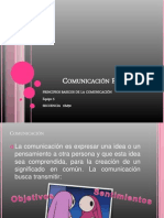 Comunicación Profesional presentación