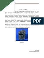 Analisa batu bara dan fasa perlit