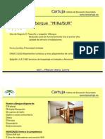 Exposición Plan Empresarial Albergue MIRALSUR