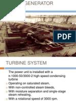 Tubine Generator System