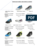 Copia (2) de Catalogo de Zapatos de Futbol
