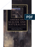 Cambridge Companion American Realism and Naturalism