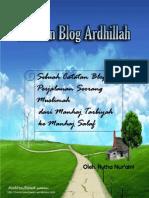 Catatan Blog Ardhillah