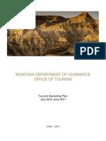 FY11 Tourism Marketing Plan1