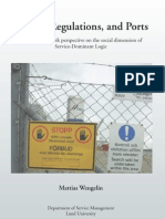Service, Regulations, and Ports
