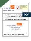 Complete Maco Quality Manual Vol. 1