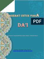 NasehatUntukParaDa'i