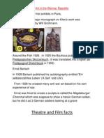 Weimar Culture Research 10d 2012