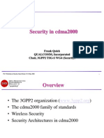 3GPP2 Security in Cdma2000