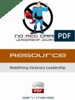 NoRedCapes.com - Redefining Visionary Leadership