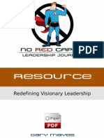 NoRedCapes.com - Redefining Visionary Leadership