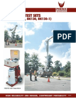 Testequimentshop.com AC Dielectric Test Equipment Aerial Lift Test Set TES BK 130 Data Sheet