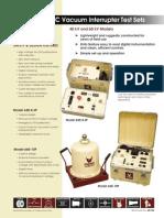 Testequimentshop.com AC Dielectric Test Equipment Portable AC Dielectric Test Sets Data Sheet