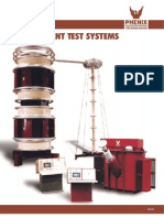 Testequimentshop.com Resonant Test Systems Variable Frequency Resonant Test Sets Data Sheet