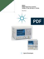 Testequipmentshop.com Agilent Phase-Noise-Measurement TES-E5052B Datasheet
