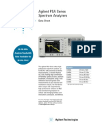 Testequipmentshop.com Agilent Spectrum-Analyzers TES-E4440A Datasheet