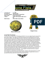 Stone Fists Loyalist Space Marines