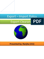 Export Import Clearance