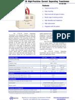 Testequipmentshop.com Auxiliary Equipment TES CTS 120 Datasheet