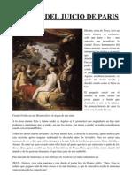 El Mito Del Juicio de Paris - Fotocopias