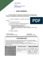 Junta General 24-03-2012