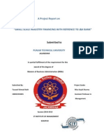 A Project Report on Financing Ssi
