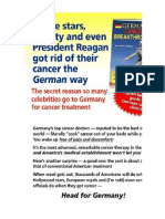 CANCER German Breakthrough
