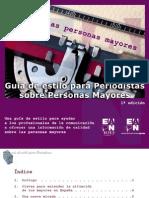 Guia de Estilo para Periodistas sobre Personas Mayores