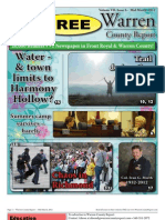 The Mid March, 2012 edition of Warren County Report