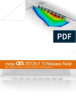 GTS 2012(v1.1) Release Notes