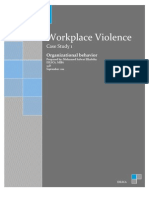 Workplace Violence Case Study1
